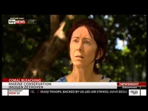 Sky News Australia says global warming is killing Great Barrier Reef
