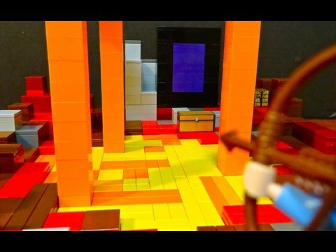 LEGO Minecraft Nether