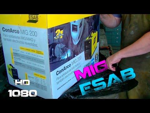 Unboxing MIG ESAB