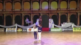 Ekaterina Tikhonova & Dmitry Alekseev - Europameisterschaft 2016