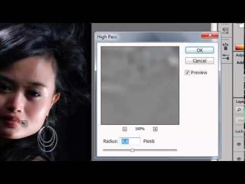 TRIK: Photoshop Menghaluskan Wajah