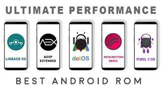 Lineage os vs Resurrection Remix vs Dot os vs Aosp Extended Aex vs Pixel 3 os  - Performance Test