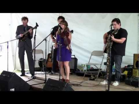 Sara Watkins Band ft. Sean Watkins w/ ChrisThile (Nickel Creek) - &quot;Any Old Time&quot; - Newport Folk 2012