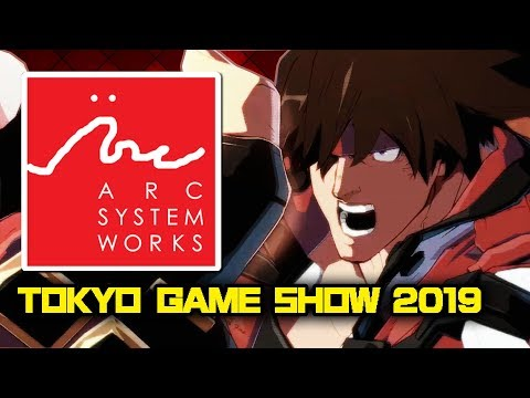 NEW Guilty Gear Stage Show LIVE REACTION! | Tokyo Game Show 2019