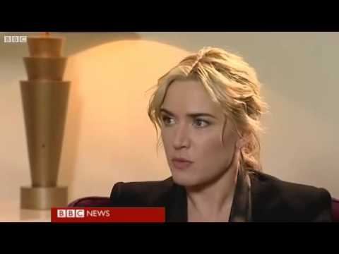 Kate Winslet Interview Titanic 3D - BBC