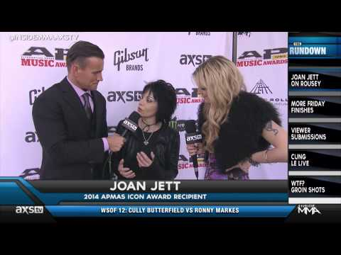 Joan Jett On Board With Ronda Rouseys Bad Reputation