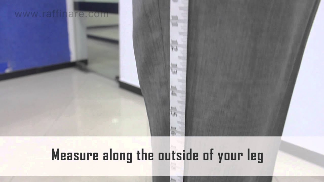 Outseam Measurement Measuring the Pant Length  Out