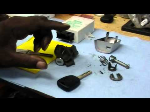 Making a Key for a '01 BMW. 330CI.mp4