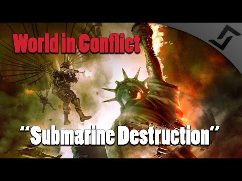 World in Conflict - Mission 13 USA/NATO - Submarine Destruction - Campaign Gameplay
