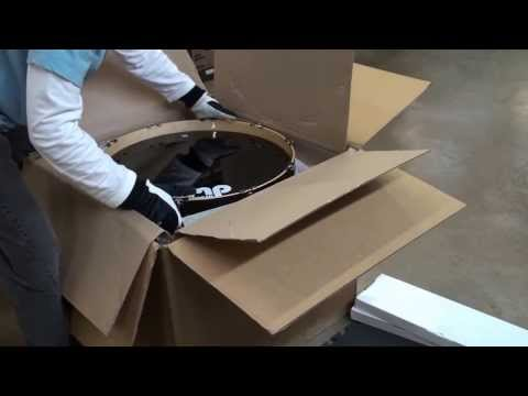 Unboxing - DW Exotic Collector's Series Drum Set (22 Bass, 10/12/14/16 Toms) in Candy Black Fade