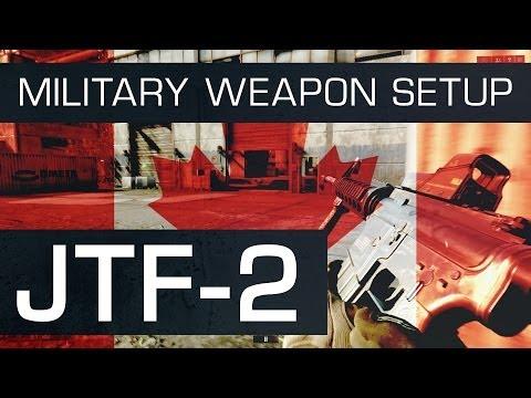 Battlefield 4 (BF4) M4 Military Weapon Setup : JTF-2