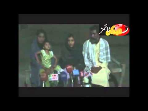 Seema Bhayo Addressing Press Conference - Youtube.flv video