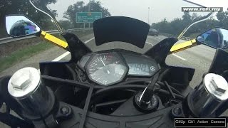 Yamaha YZF-R25 Review & TOP SPEED