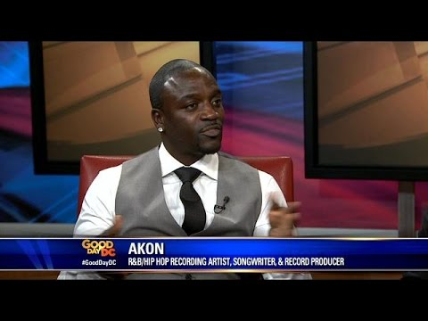 Akon talks about Akon Lighting Africa Initiative to bring electricity to 1 million homes in Africa