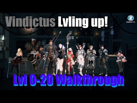 Vindictus Lvling Up 0 - 20 Walkthrough No NX EXP Items W/Commentary