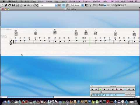 download lagu Ode To Joy  Note Names And Chords gratis