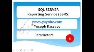 SSRS in Amharic Part 11- Parameter
