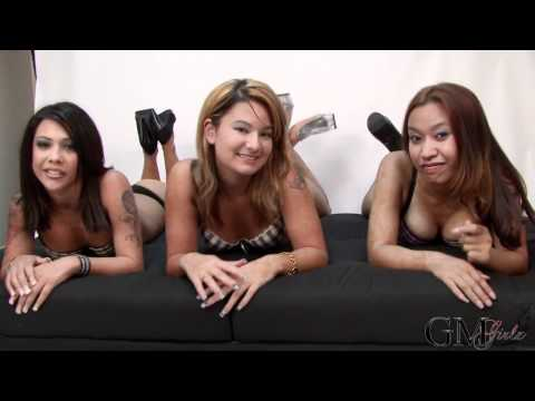3 HOT ASIAN MODELS SEXY TEASE!