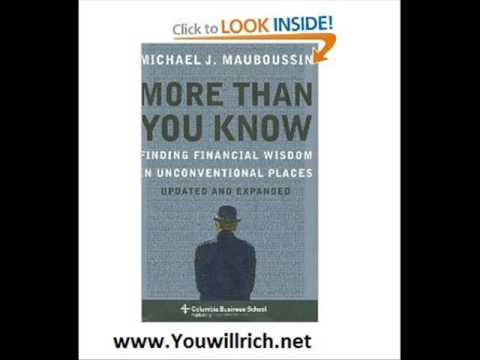 More More Than You Know: Finding Financial Wisdom in Unconventional Places