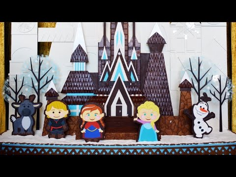FROZEN Gingerbread Display at Disney's Contemporary Resort w/Character Treats, Hidden Olafs