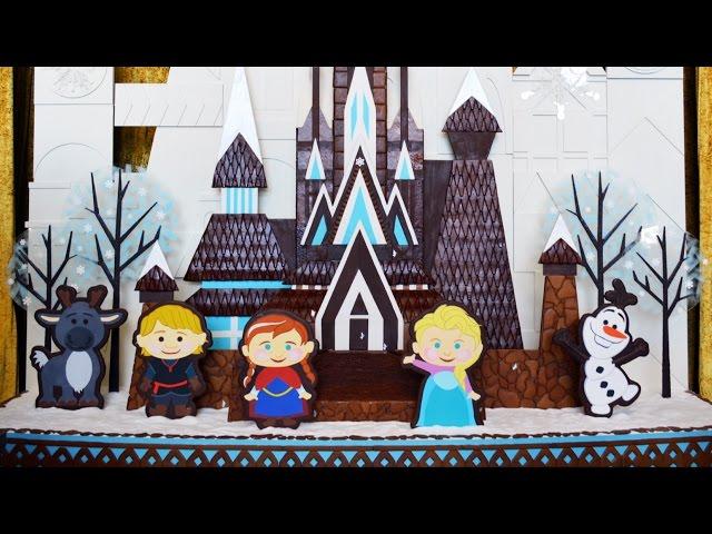 FROZEN Gingerbread Display at Disney's Contemporary Resort w/Character Treats, Hidden Olafs