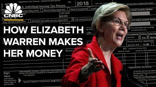 How Elizabeth Warren Makes Money
