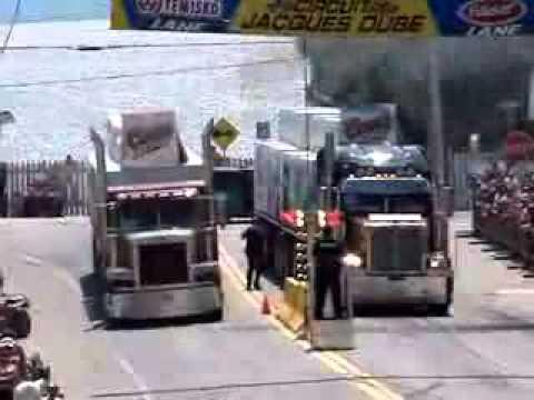 Carrera de camiones