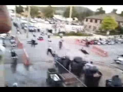 Hells Angels - Mongols Fight - Sturgis Rally video