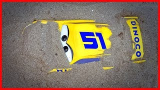 Cars Toys Play: Lightning McQueen, Fine Toys Construction Vehicles Under The Sand | Cars For Kids