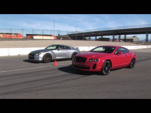 When Worlds Collide: Nissan GT-R Vs Bentley Continental ...