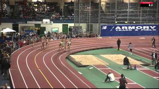 105th Millrose Games - Simpson & Rowbury battle in NYRR Wanamaker Women