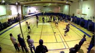 ecuavoley JUAN vs MICHAEL 2013 - locos por el voley