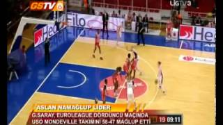 EUROLEAGUE WOMEN - 4.HAFTA | Galatasaray 58-47 USO Mondeville