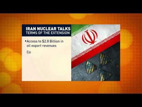 Talks over Iran's nuclear program extended, Seg. 1