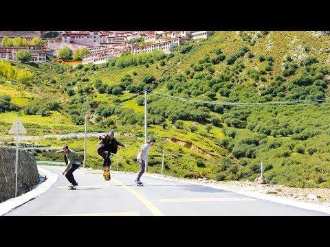 Skate Adventure to Tibet | Madars Apse Himalayas Skate Trip EP1