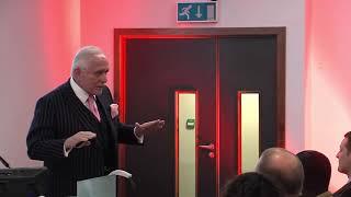 50 Billion Dollar Man...Dan Peña Speaks at the University of Chester