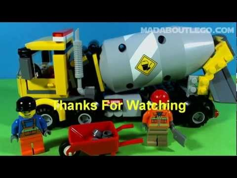 The new Lego cement mixer, with 221 pieces and 2 minifigs. Nice set to add to your city. Music from Jewelbeat.