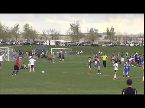 Colorado Storm U13 vs Rapids  Burgundy