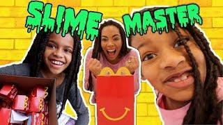 McDonald's Mystery Box! Slime Master - New Toy Master