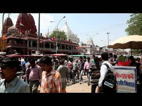 Oldest Jain Temple In Delhi- Shri Digambar Jain Lal Mandir video