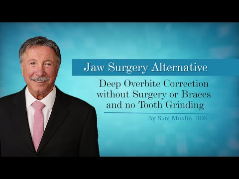 Deep Overbite Correction without Surgery or Braces and no Tooth Grinding