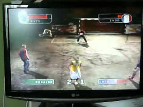 Fifa Street 2 on PCSX2 fully playable