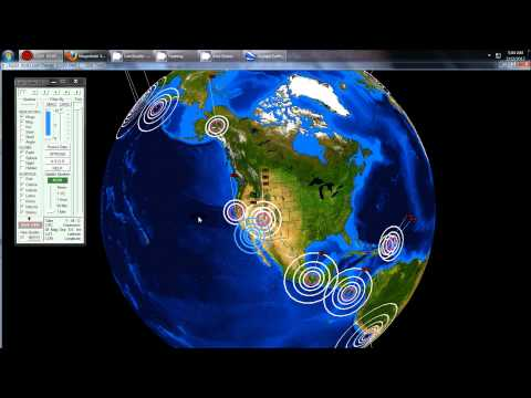 2/12/2012 -- California earthquake swarm @ dormant volcanic chain = Southwest USA moving