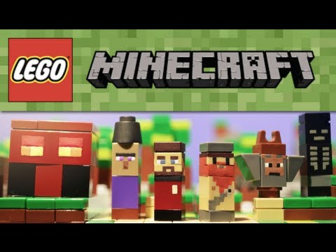 LEGO Minecraft : Additional Micromobs #6 - Showcase