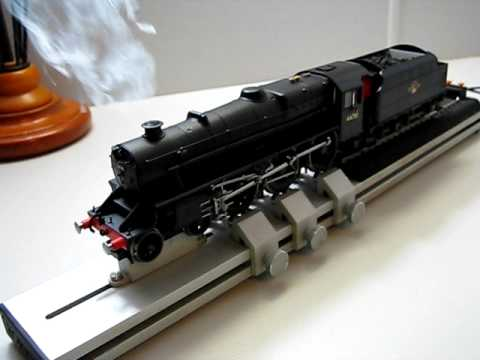 Hornby Black 5 DCC sound smoke and lights