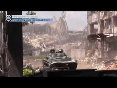 East Ukraine Conflict: Fierce fighting erupts near ruins of Donetsk airport