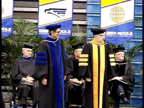 Masters Hooding Ceremony - Embry Riddle University