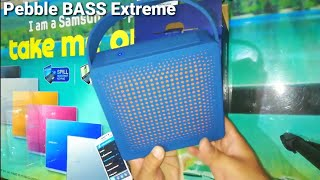 Pebble BASS eXtreme portable bluetooth speakers | Unboxing & Sound Test Review by Sarv Gyan Sampann