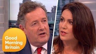 Piers Morgan and Susanna Reid's Fiery Feminism Row!   Good Morning Britain