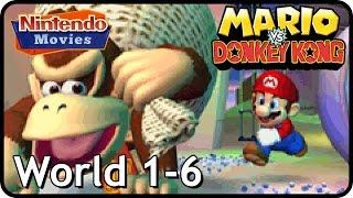 Mario vs. Donkey Kong - World 1 - 6 - 100% Walkthrough